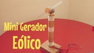 Mini Gerador Eólico - Como Fazer