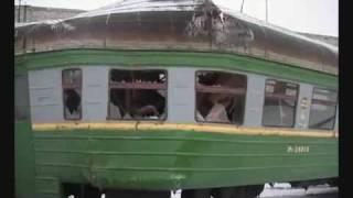 Поезд Врезается В Тупик