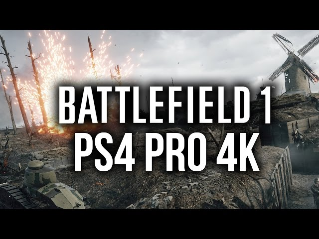 ps4 battlefield 4 gameplay 1080p vs 4k