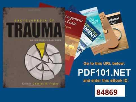 Encyclopedia of Trauma An Interdisciplinary Guide