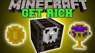 Minecraft: GET RICH (GOLDEN LOOT, GRAVEYARDS, EPIC CHESTS, & MORE!) Mod Showcase thumbnail