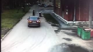 СПб мужчина на BMW сбил человека