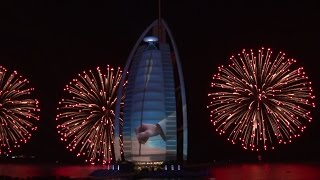 Burj Al Arab Celebrates the UAE's 43rd National Day - Official Video