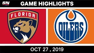 NHL Highlights   Panthers vs. Oilers – Oct. 27, 2019