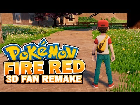 POKÉMON ORIGIN FIRE RED 3D REMAKE - UNREAL ENGINE FAN GAME + DESCARGA