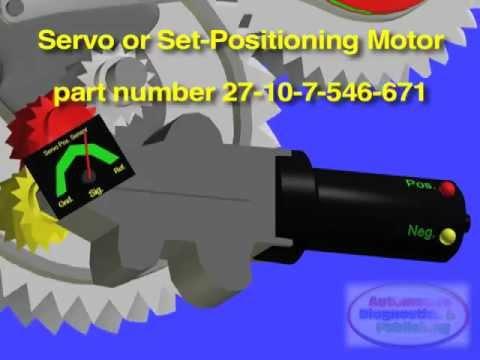 Bmw X Drive Servo Motor Replacement Youtube