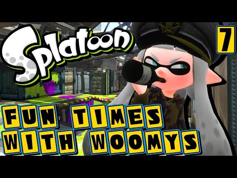 Fun Times with Woomys! General Woomy's Drinking Problem | Splatoon (Episode 7)