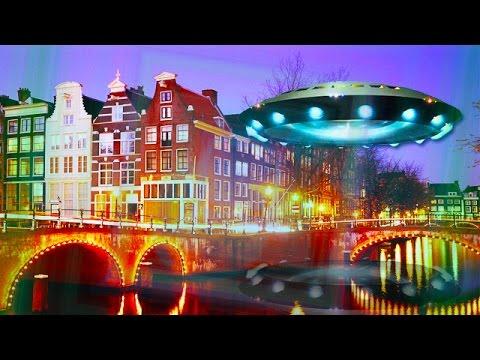Новое видео НЛО: над Амстердамом летает массивный объект