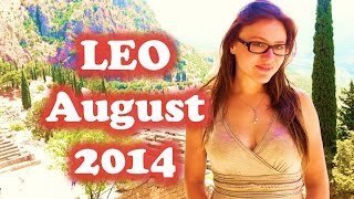 LEO AUGUST 2014 with Astrolada