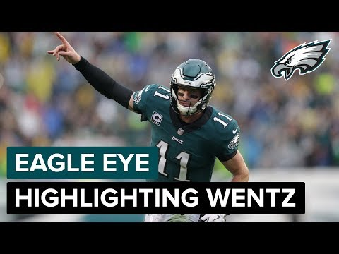 Eagle Eye: Highlighting Carson Wentz | Philadelphia Eagles