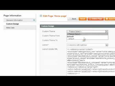 Magento Commerce - CMS (Content Management System)