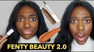 Fenty Beauty Pro Filt'r Concealer (420) & Setting Powder (Nutmeg) | Fenty Beauty Review