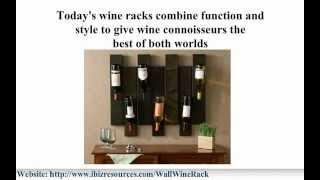 Wall Wine Racks, Opt For Visible Wall Wine Rack Display And Storage