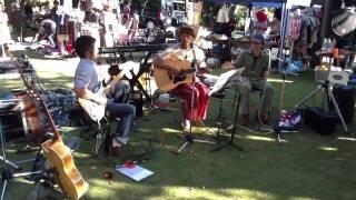 2011年10月16日 伊東市伊豆高原のミモ座リゾートでのアコースティックライブ.