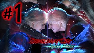 Devil May Cry 4 Special Edition - Parte 1: Nero VS Dante! [ PC 60 FPS - Playthrough ]