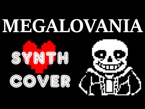 MEGALOVANIA Synth Cover - Undertale Remix