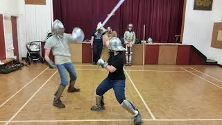 Medieval Combat Society Jan : buckler vs bucker