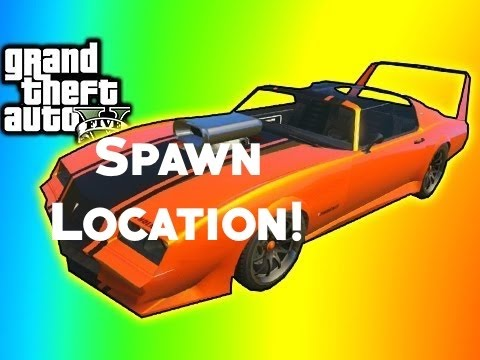 GTA 5 Online Imponte Phoenix Spawn Location PS4PS3 Xbox OneXbox 360