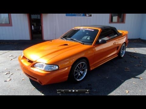 1995 Ford Mustang GT 5.0 Bill Jones Tribute Start Up, Exhaust, Test Drive and In Depth Tour