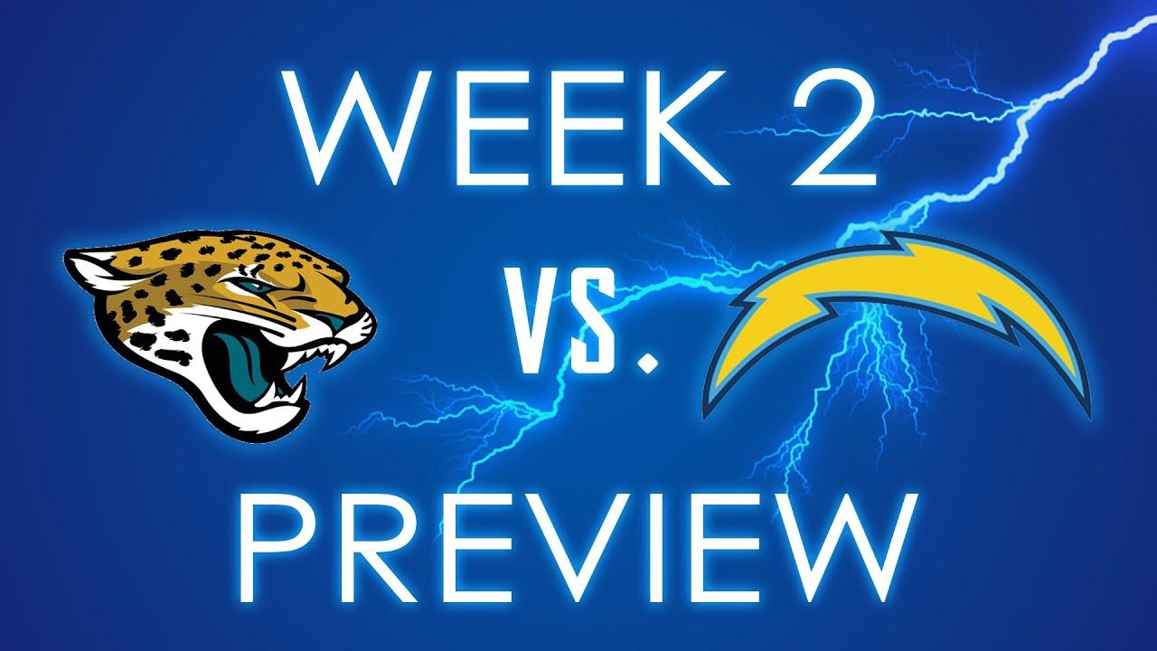 Jacksonville Jaguars Vs San Diego Chargers Week 2