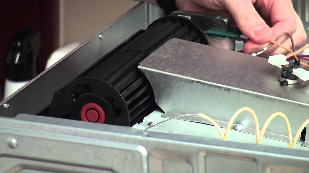 How To Replace The Cooling Fan Motor In An Oven Youtube