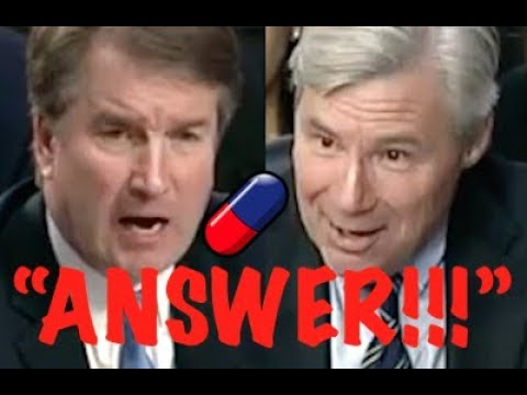 """ANSWER THE QUESTION!!"" Sheldon Whitehouse CONFRONTS Brett Kavanaugh on Trump & Corporate Corruption"