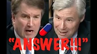 """ANSWER THE QUESTION!!"" Sheldon Whitehouse CONFRONTS Brett Kavanaugh on Trump & Corporate Corruption"