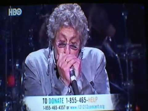 Hurricane Sandy Relief Concert 12-12-12- The Who- Baba O