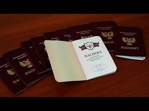 Russia defends decision to recognise rebel passports in eastern Ukraine