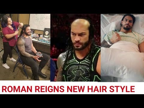 Roman Reigns New Haircut After Cancer FULL VIDEO thumbnail