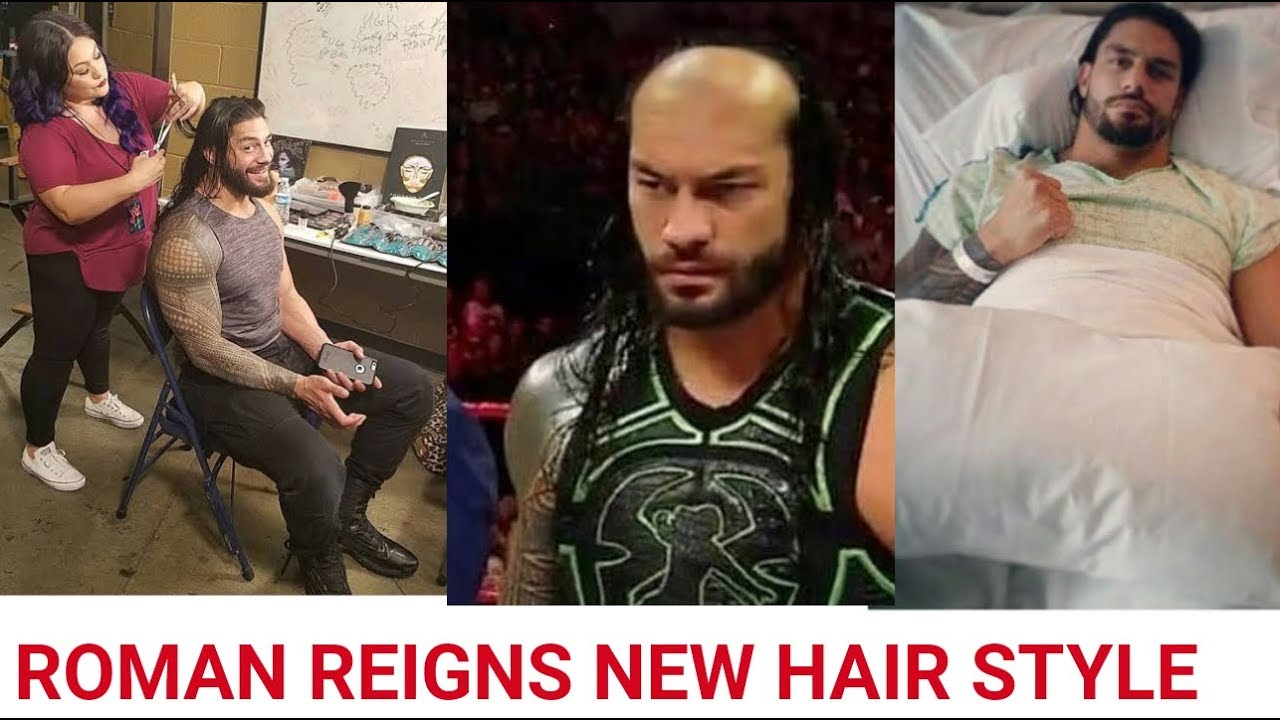 Roman Reigns New Haircut After Cancer Full Video Youtube
