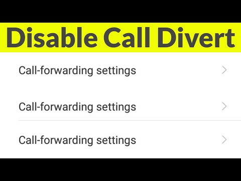 How To Deactivate/Disable Call Forwarding Or Call Divert In Android Mobile  & Turn Off Permanently