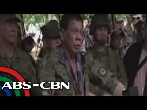 TV Patrol: Duterte, tumanggi nang makipag-usap sa mga komunista