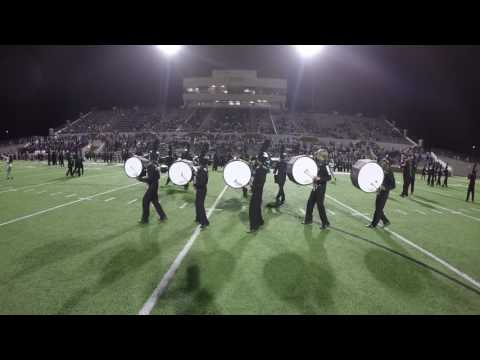 Mansfield Lake Ridge High School Marching Band 10.28.16 GoPro