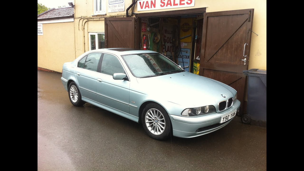 2001 bmw 525 car review - youtube