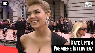 Kate Upton Interview - The Other Woman Red Carpet Premiere