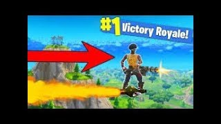 FortNite TRYING TO ROCKET RIDE ET GET A KILL ON ITW
