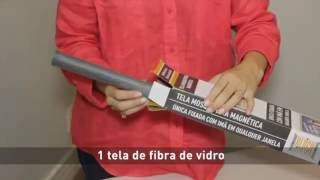 Block Insetos - Fácil instalação da tela mosquiteira magnética