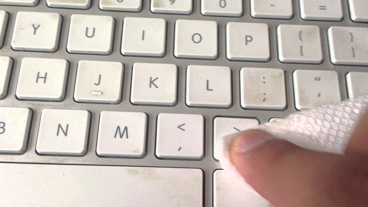 Clean keyboard mac