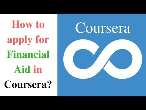How to get paid online courses for free?! | Apply Financial aid | Coursera.org