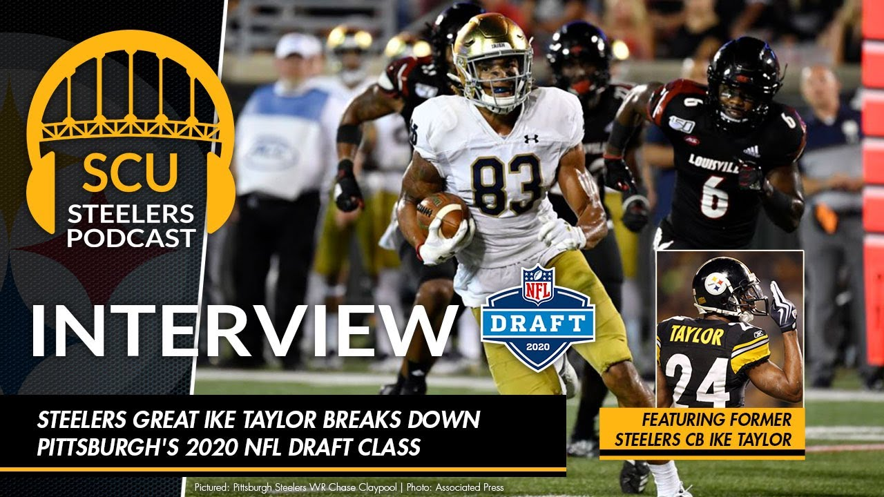 Be Taylor Christmas Show 2020 Pittsburgh Steelers great Ike Taylor breaks down Pittsburgh's 2020 NFL Draft