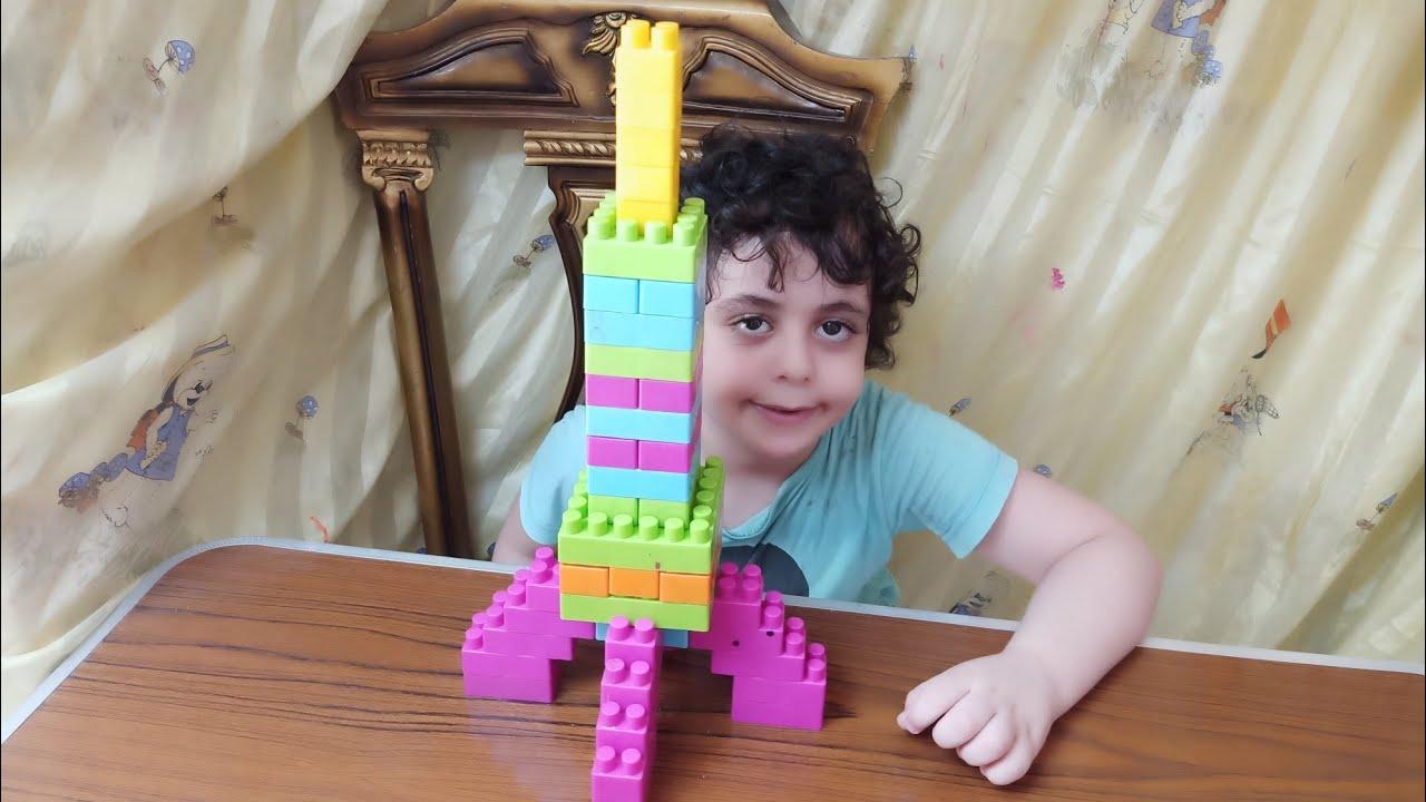 بناء 🚀 صاروخ بالمكعبات ،العاب اطفال ،play with blocks