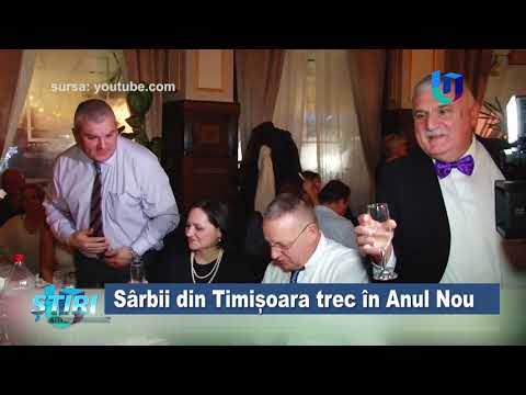 TeleU: Sârbii din Timișoara trec în Anul Nou