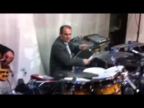 Sargon Gabriel,Amo Simon,Geliana Esho, with Johnny Talia on