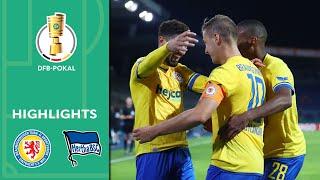 9-Tore Wahnsinn! | Eintracht Braunschweig - Hertha BSC 5:4 | Highlights | DFB-Pokal 20/21 | 1. Runde