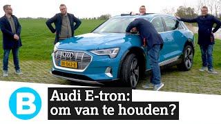 Review: de elektrische Audi E-tron verrast én stelt teleur 🔌