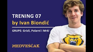 PK Medveščak - Trening 07 za grupe: Grizli, Polarni & Mrki by Ivan Biondić