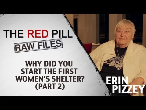 Why Did You Start The First Women's Shelter? Part 2 | Erin Pizzey #RPRF