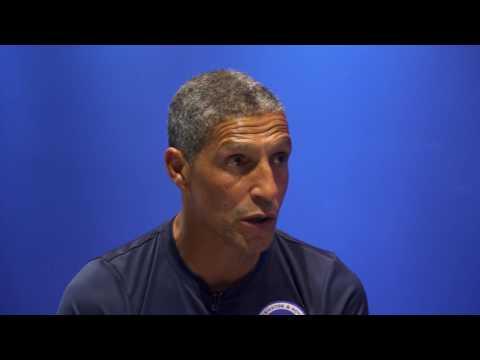 Ian Holloway meets... Brighton manager Chris Hughton