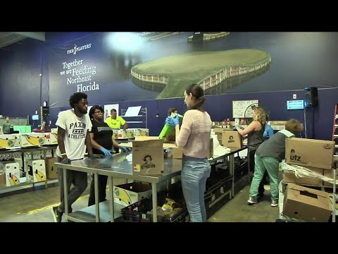 Hundreds volunteer for day of service events in Jacksonville